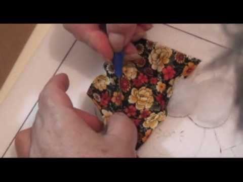 PATCHWORK NO ISOPOR (EMBUTIDO) - 5 - ALMOFADADO - COM LU HERINGER - YouTube