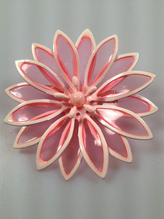 51 Best Images About Enamel Flower Brooches On Pinterest