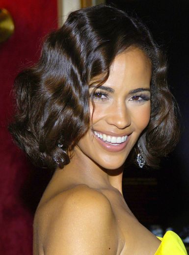 Paula Patton- She has the best teeth and smile