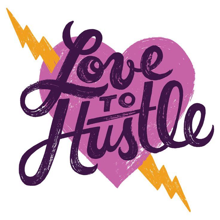 Love to Hustle Design for Nike by Mary Kate McDevitt #illustration