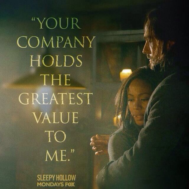 will abbie and ichabod hook up Will ichabod & abbie do the deed in 'sleepy hollow' season 2 when are they gonna hook up has been cast as a bounty hunter who joins ichabod and abbie's.