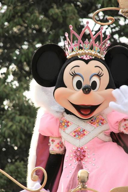 Princess Minnie at Tokyo Disneyland