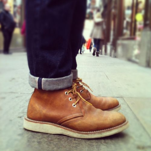 Red Wing Chukka's
