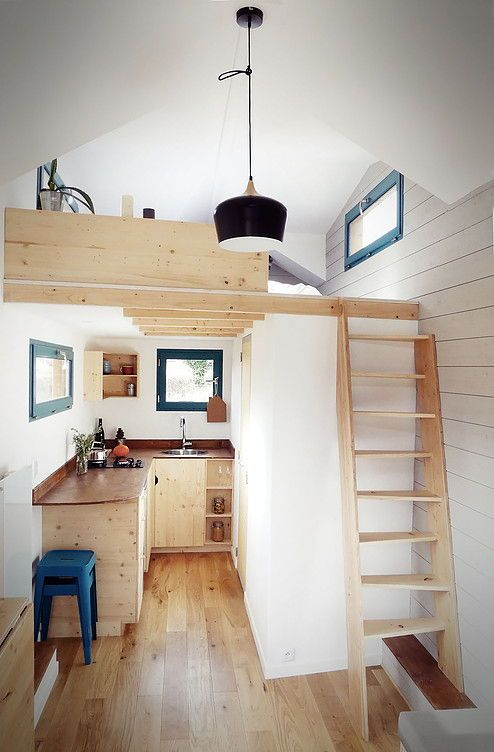 Caracole By Escampette Small Room Design Tiny House Big