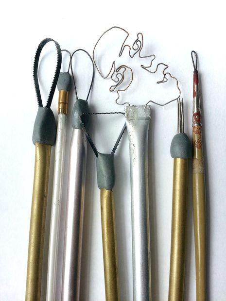 Instructable: DIY Sculpting Tools