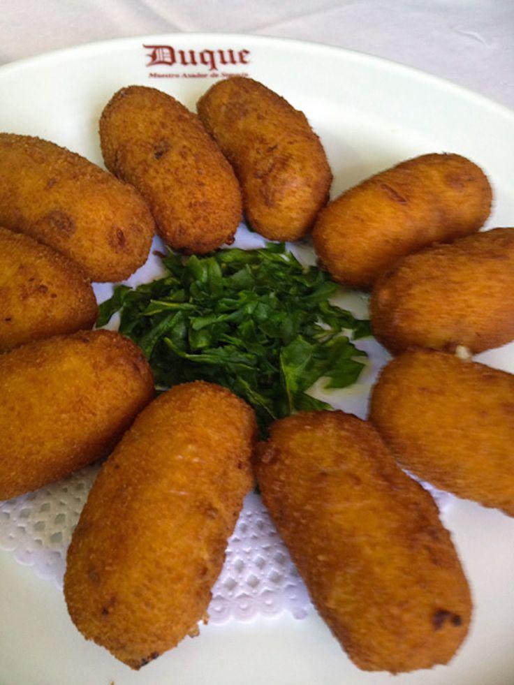 Imagen: www.restauranteduque.es   Necesitamos   250 gramos de gambas  5-6 ajos  60 gramos de mantequilla  60 gramos de harina de reposterí...