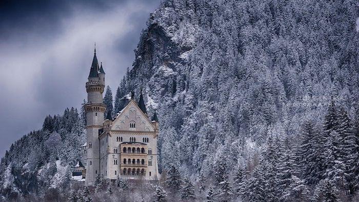 1001 Ideen Zum Thema Tolle Winterbilder Und Winterspruche Schloss Neuschwanstein Burgen Und Schlosser Neuschwanstein