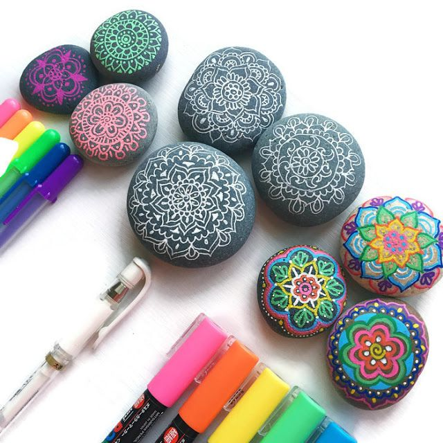 Learn what the best pens are for drawing on rocks and how to protect your artwork when you're finished.