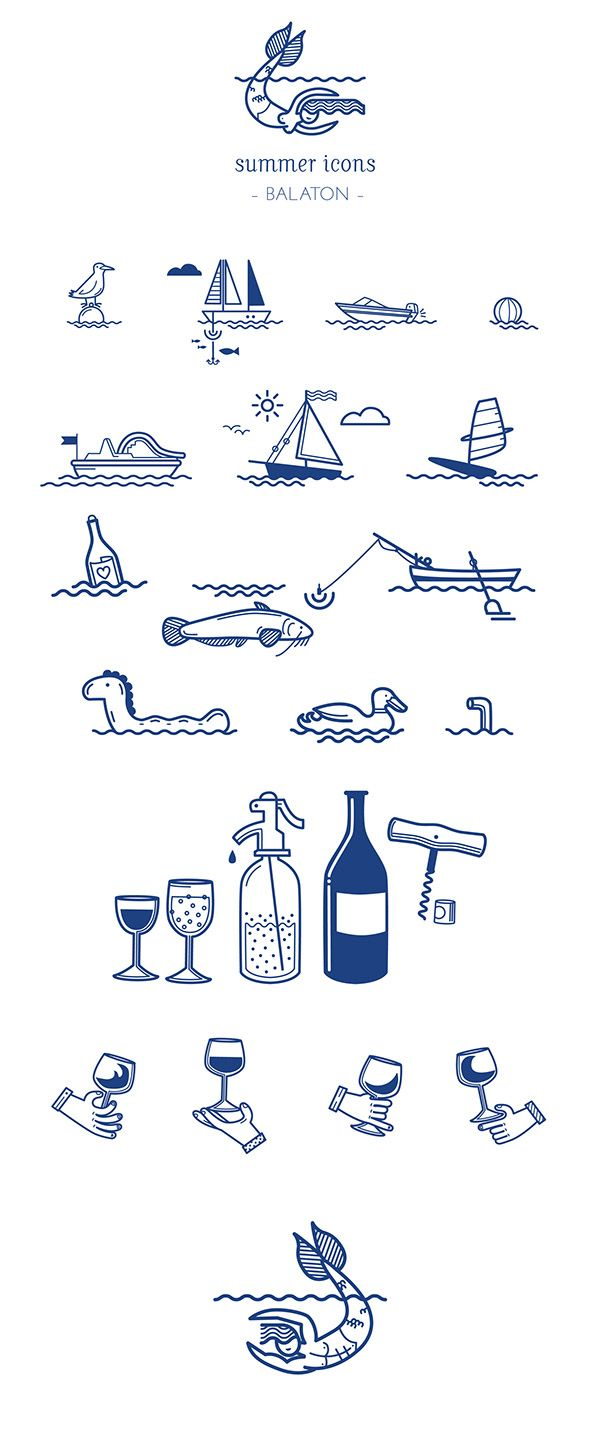 Paletta is a new Bistro by lake Balaton. I designed few icons and illustration for the entrance, they will use them as stickers on the front glass. pics soon...https://www.facebook.com/PalettaBistro?fref=ts