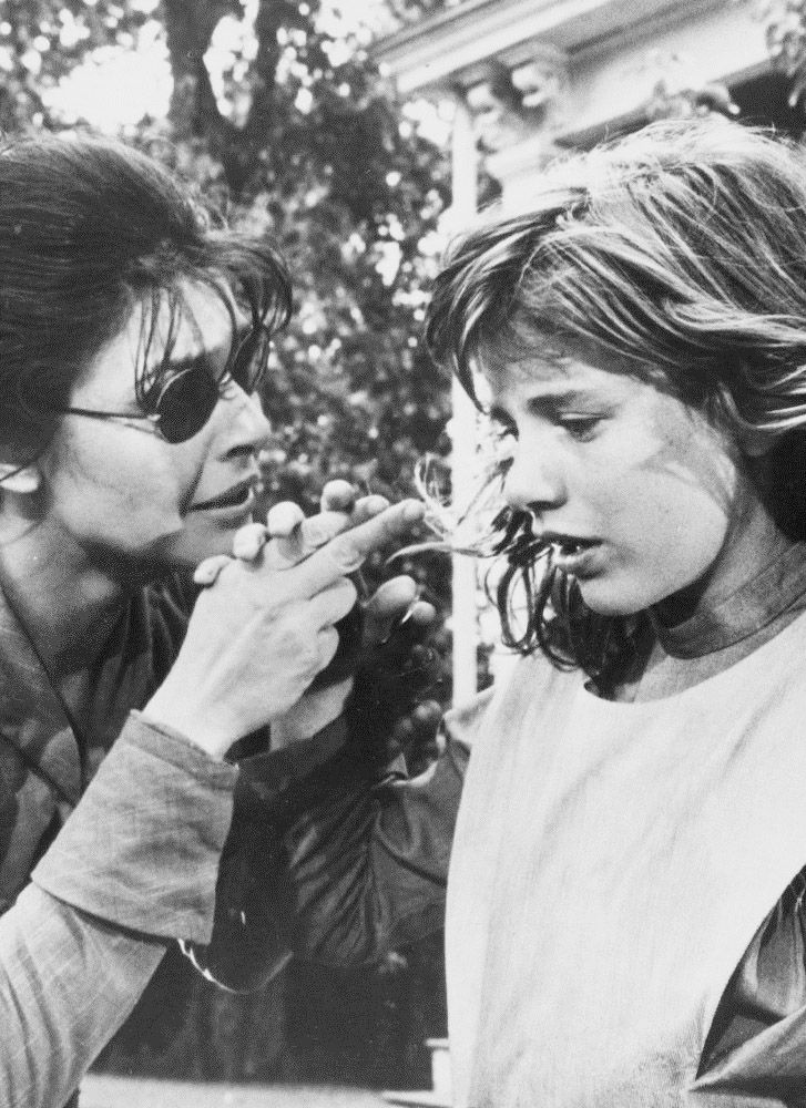 Anne Bancroft and Patty Duke in  The Miracle Worker, 1962. Via http://hollywoodlady.tumblr.com/