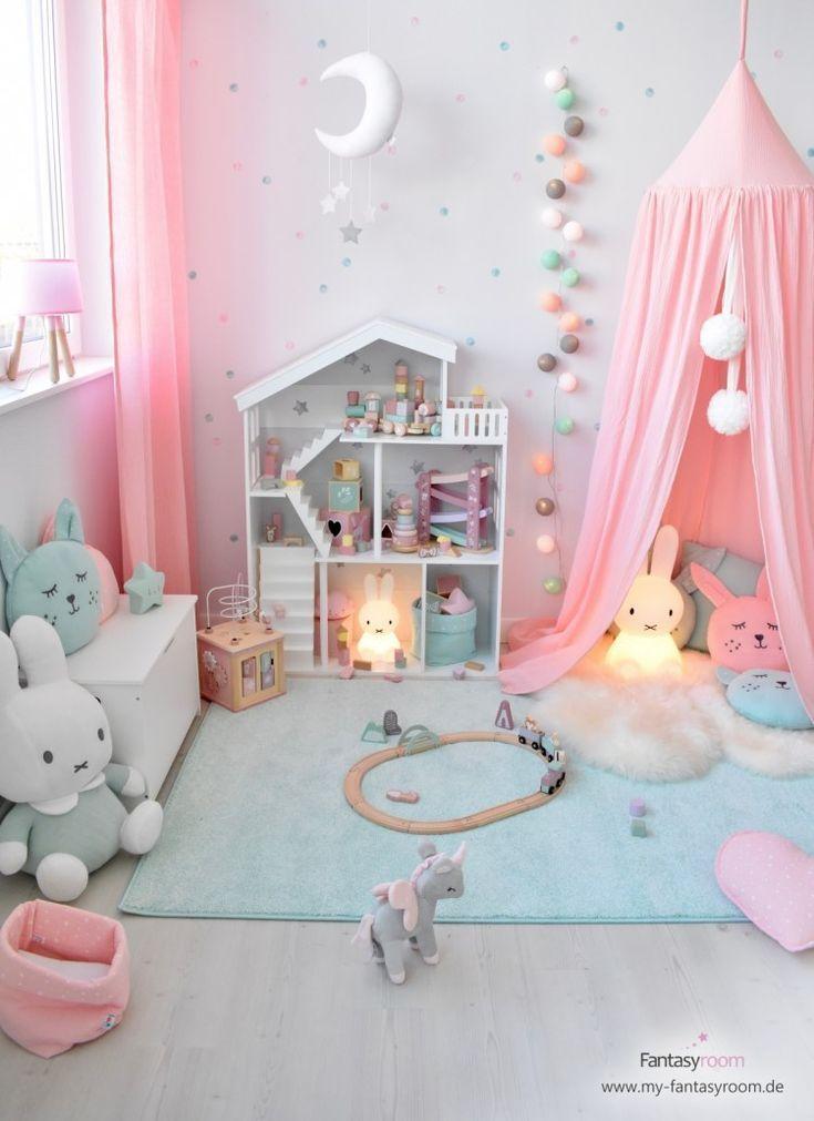 Rosa & Mint: une combinaison de rêve pour les filles & # 39; pièces! #madchenzimmer #traumko …   – Kinder zimmer