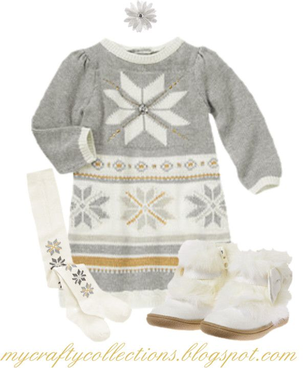 Toddler Girl's Outfit - Snowflake Princess - featuring items from Gymboree. Available in sizes 3 months through 5T.