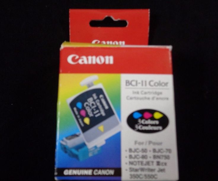 Canon ink cartridge genuine BCI-11 Color BJC-50 BJC-80 BJC70 3 colors #Canon