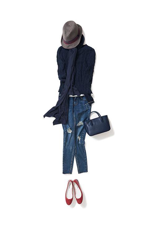 ハンサムで色っぽいパンツスタイル(2016-04-07)