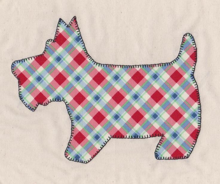 77 best Scottie Dogs: Quilt images on Pinterest | Dog quilts ... : scottie quilt pattern - Adamdwight.com