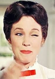 Image result for julie andrews mary poppins makeup