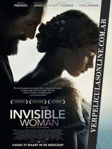 Parte de la vida de Charles Dickens. Me ha encantado!! The Invisible Woman (La mujer invisible), 2013. http://www.filmaffinity.com/es/film702776.html  VER: http://www.verpeliculasonline.com.ar/ver-la-mujer-invisible-online-gratis.html