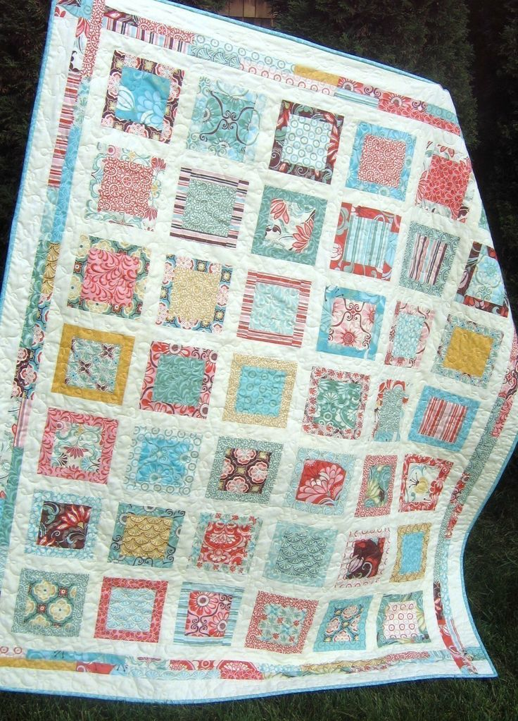 Layer Cake Quilt With Just Wing It Fabric By Momo