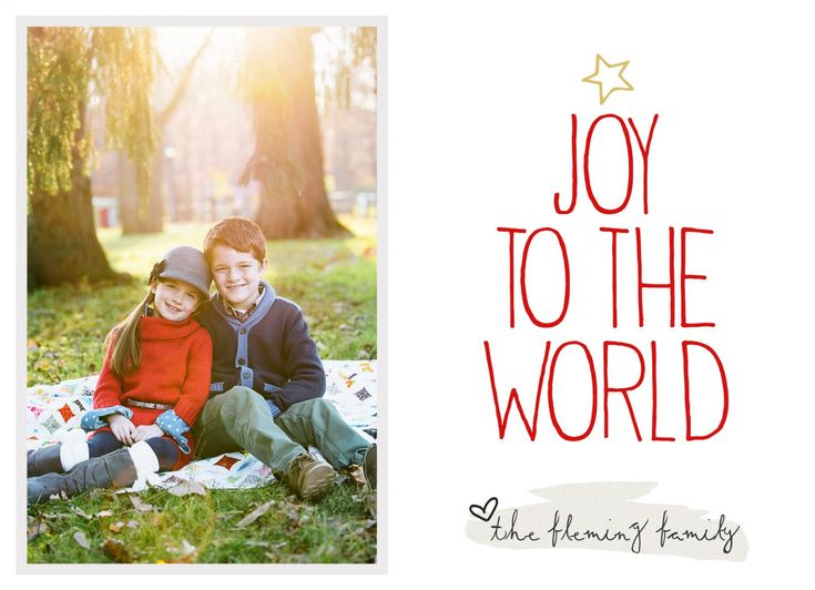Free Christmas Card Template, just add your own photo and text! Simple to download and use. Size is 5x7.
