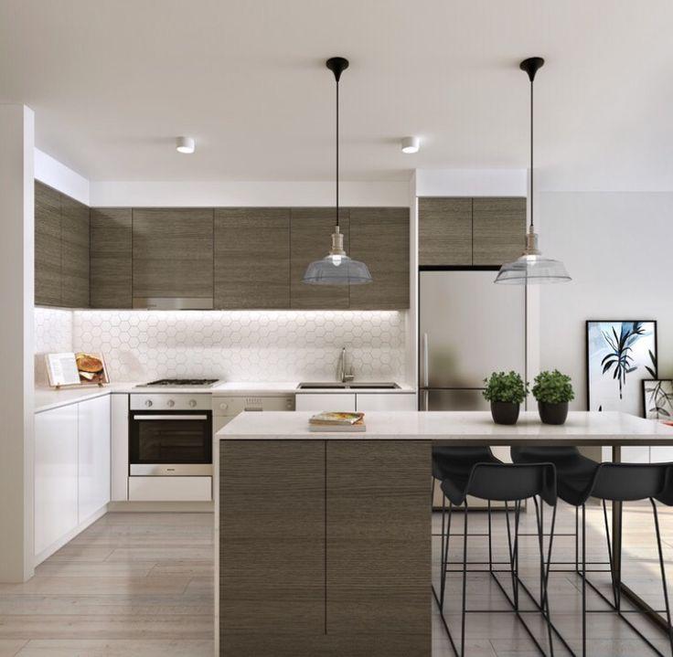 Hex splash back 35 best Modern Kitchen