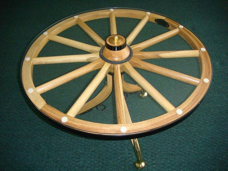 Wagon Wheel Table | 30 Inch Wood Western Wagon Wheel Glass Top Table With  Hames Legs