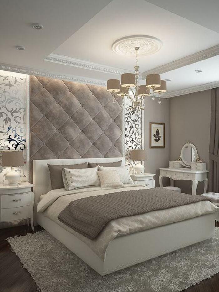 √ 25 Master Bedroom Ideas 2021 You're Dreaming of   Luxurious bedrooms, Elegant bedroom, Elegant ...