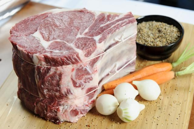 This is a fantastic rub for prime rib. The combination of flavors from the olive oil, herbs, and garlic make a good slow roasted rib roast perfect.