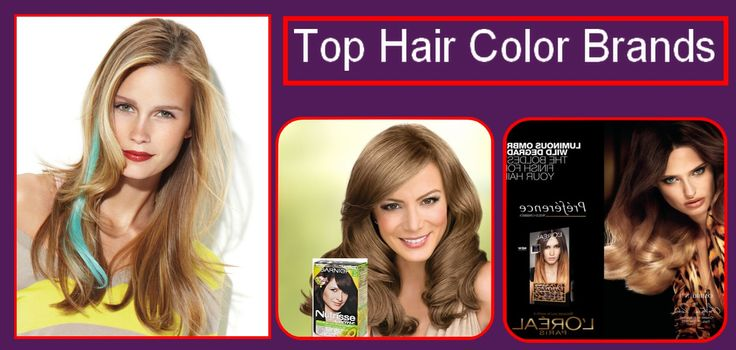 Top #Hair Color #Brands
