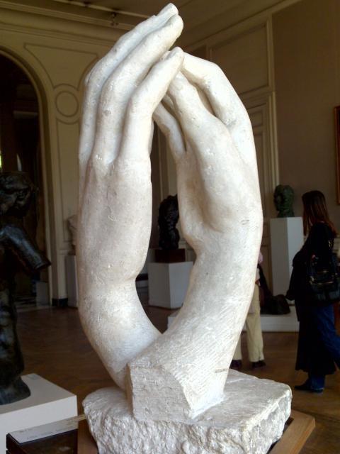 Le mani, Rodin
