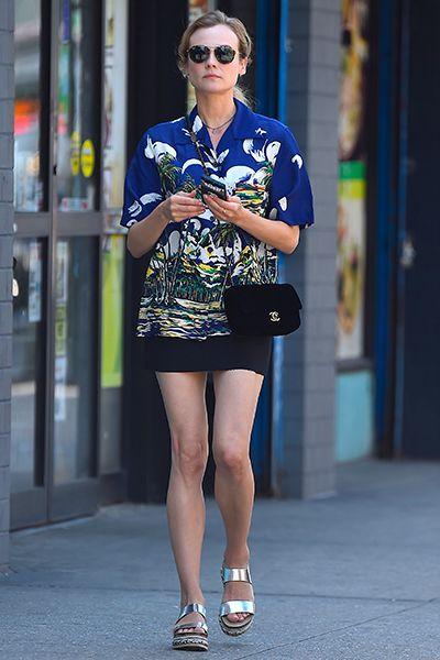 Diane Kruger wearing Kurt Geiger