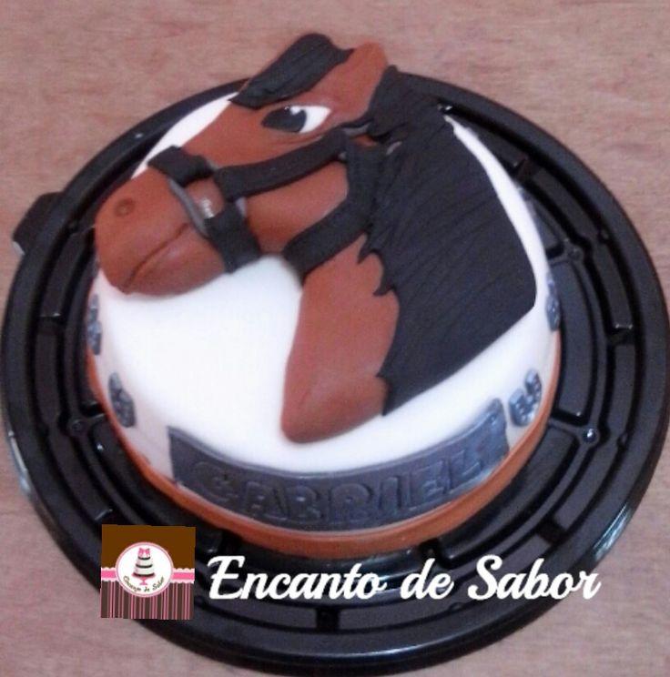 Pastel Caballo