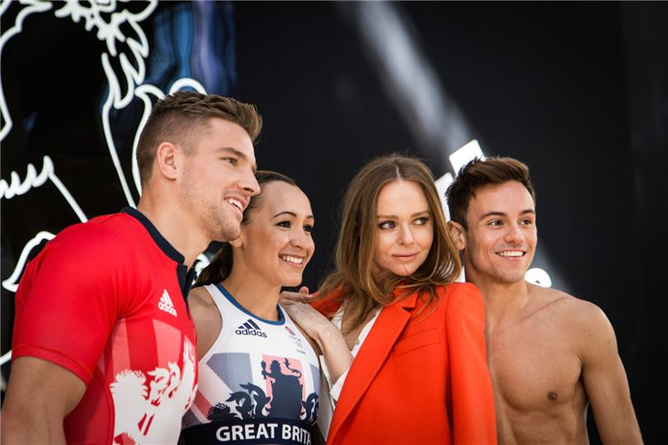 Stella McCartney And adidas Launched Team GB and Paralympics GB kit For Rio 2016 Olympic Games | Zhiboxs.com