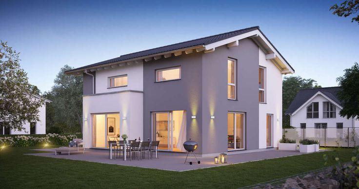 Das Familienhaus Vero überzeugt auf 160 Quadratmetern alle Bewohner dieses Hauses. Großzügige Räume und eine offene Wohngestaltung machen das Leben in diesem Haus besonders.