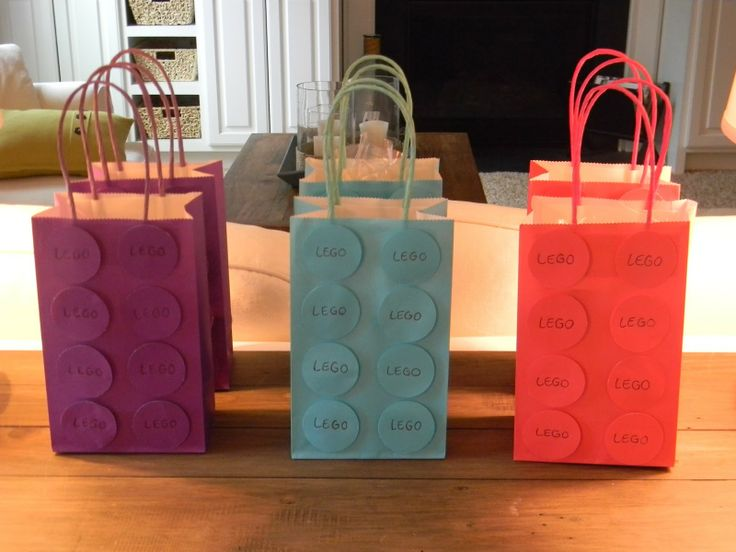 LEGO Friends Birthday Party | Seaside Interiors: The Last of the Lego Party Tutorials: Goody Bags!!!