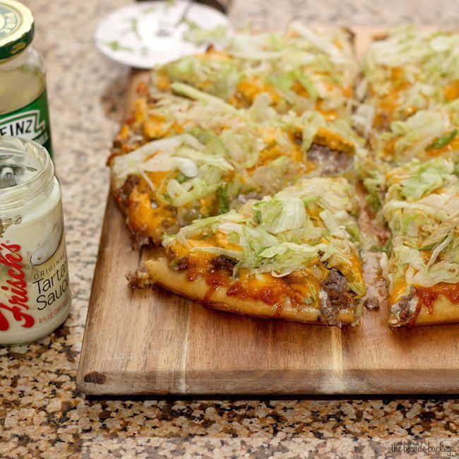 Frisch's Big Boy pizza