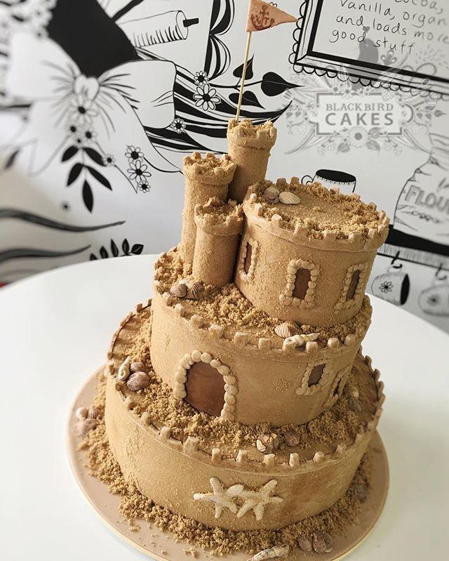 Sand Castle Cake Cake Crazy Cakes Cake Decorating