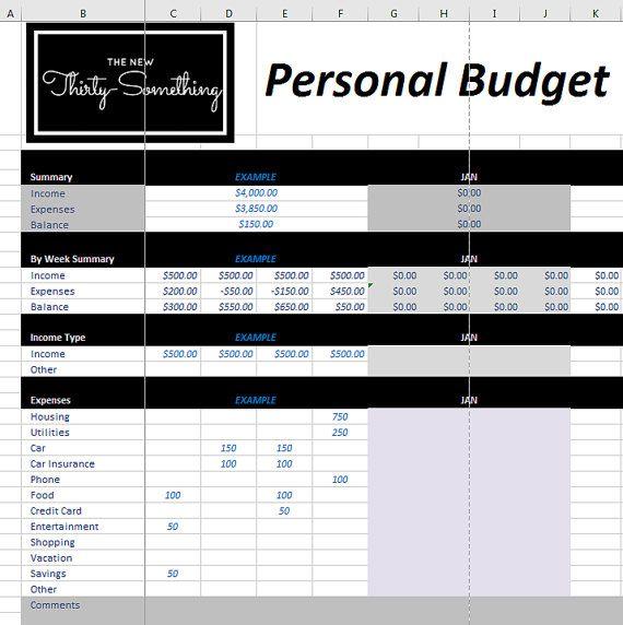17 καλύτερα ιδέες για Weekly Budget Template στο Pinterest - business budget template