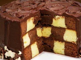 Budín Marmolado y Tiger Cake
