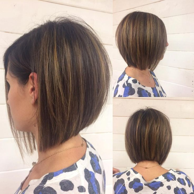 "202 curtidas, 7 comentários - Arizona Hairstylist (@emilyandersonstyling) no Instagram: ""And the #starightnsleek version before I curled it. #shorthairclub #shorthair #kenra…"""
