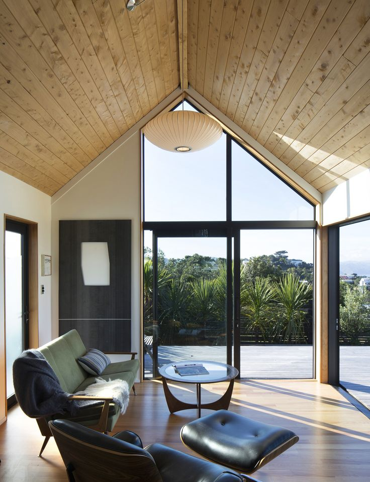 A 45-square-metre studio designed for an exposed Wellington hilltop - Homes To Love
