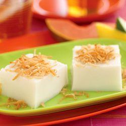 Caribbean Coconut Pudding - Recipe for Coconut Pudding | Caribbean Recipes | Caribbean Food Recipes
