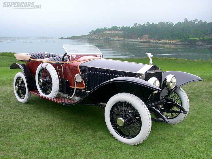 1914 Rolls-Royce Silver Ghost Labourdette Skiff  - (Rolls-Royce Motor Cars, Goodwood, UK 1904-present)