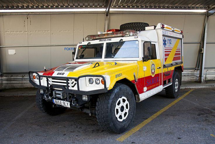 SAMUR-Protección Civil. Taller Móvil URO VamTac