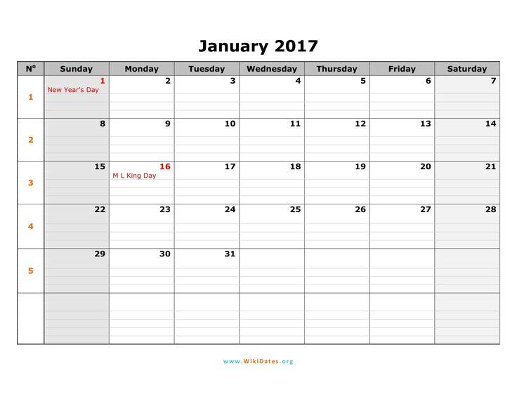 The 25+ best 2017 calendar image ideas on Pinterest - printable 2017 calendar