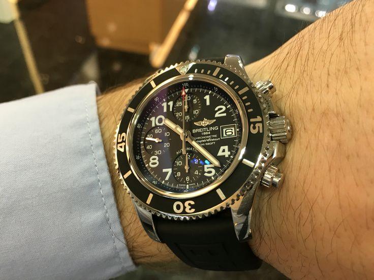 Breitling Superocean chronograph 42 mm