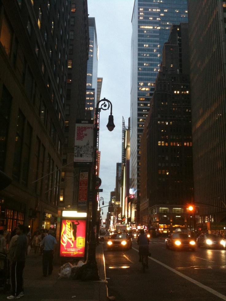 Tourist shot in NYC