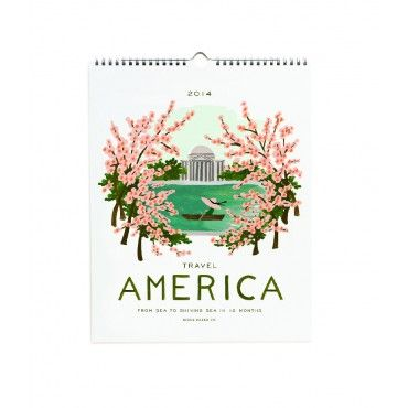 Terrain America Wall Calendar - Rifle Paper Co. - Brands - Shop