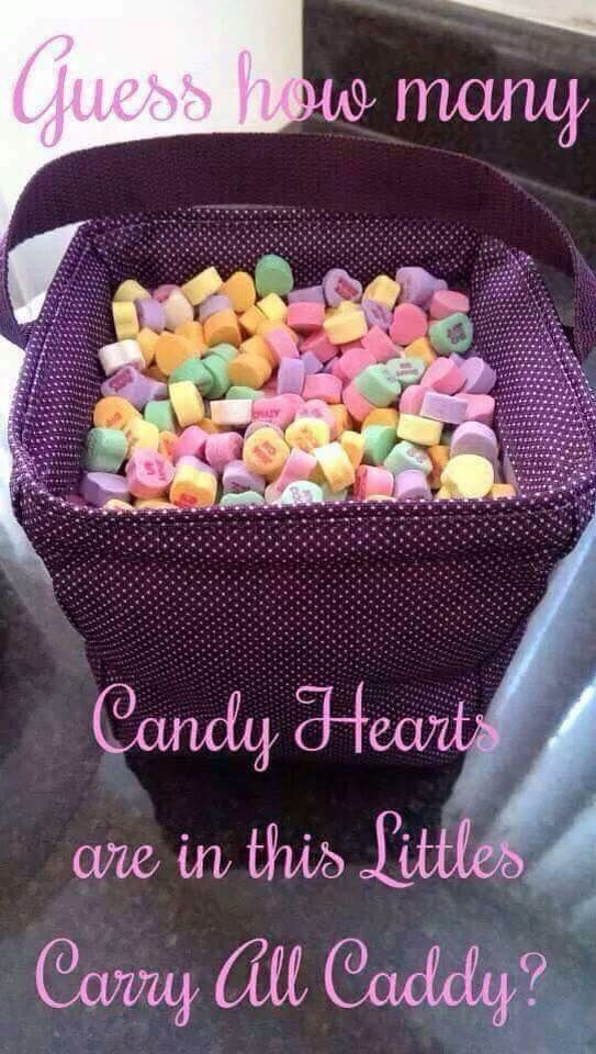 Candy heart guessing game!