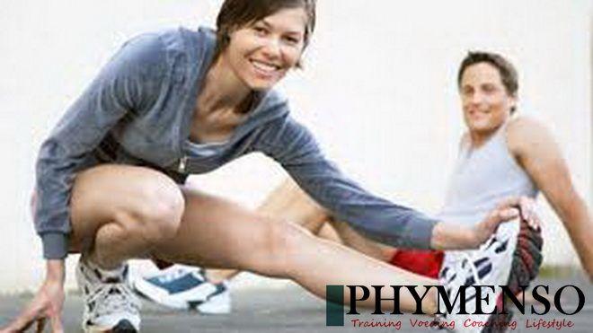 Trainen met partner, collega en/of uw vriend(in). Phymenso maakt het mogelijk.