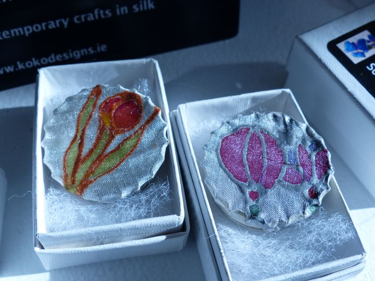 silky brooches for under 10 Euro